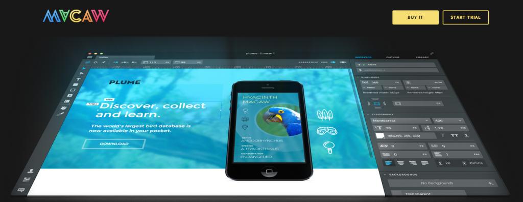 Macaw Responsive Web Design Tool